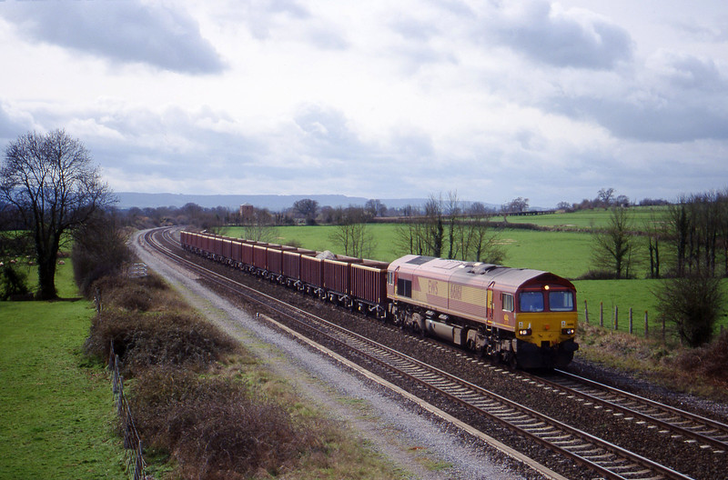 66161, Doniford (near Watchet)-Westbury, Cogload, 14-3-00.
