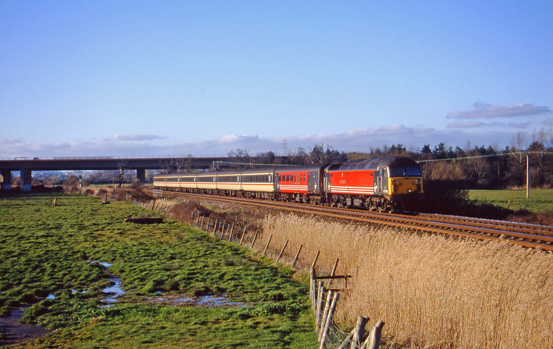 47702,, 08.40 Glasgow-Penzance, Exminster, near Exeter, 15-3-00.