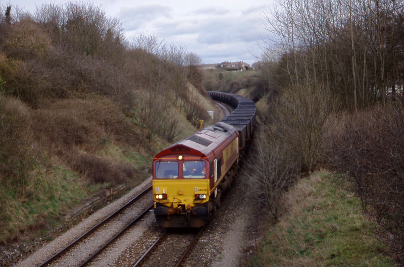 66020, down mgr empties, Brentry, Bristol, 14-3-00.