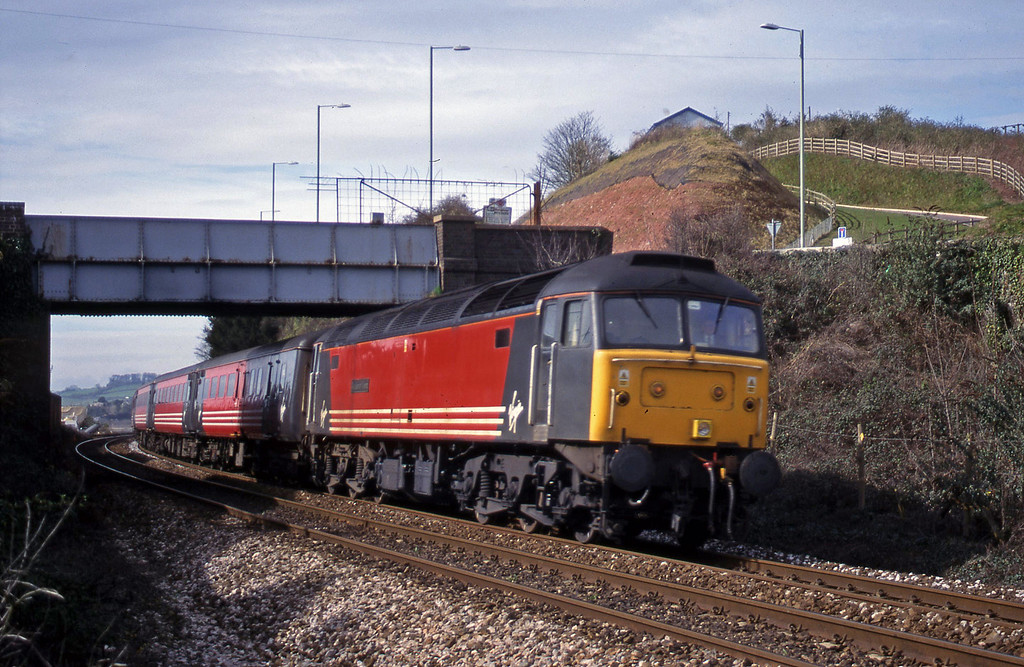 47807, 11.50 Plyumouth-Liverpool Lime Street, Teignmouth, 7-3-00.