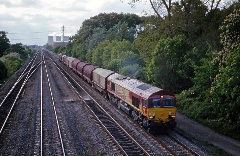 66213, 12.40 Wolverhampton-Hoo Junction, Didcot, 16-5-00.