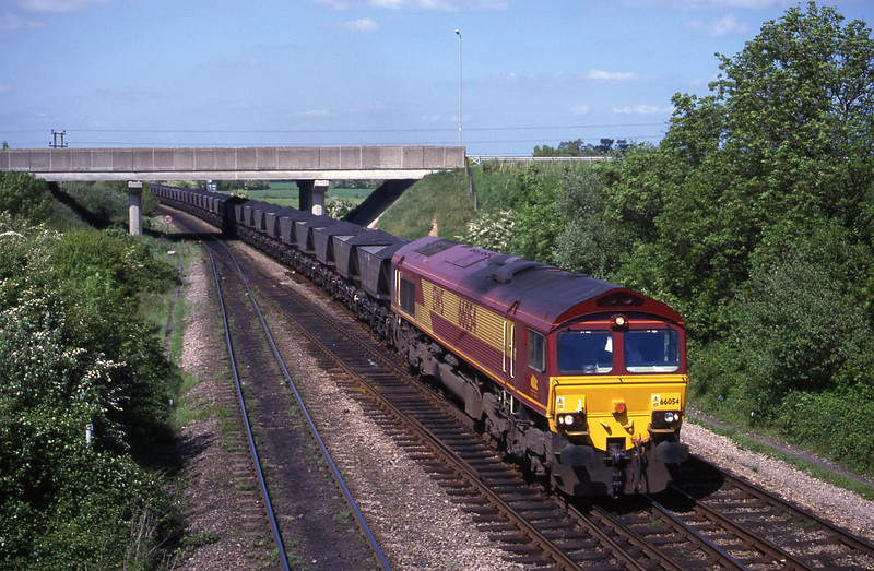 66054, Toton Yard-Didcot Power Station, Didcot North Junction, 16-5-00.