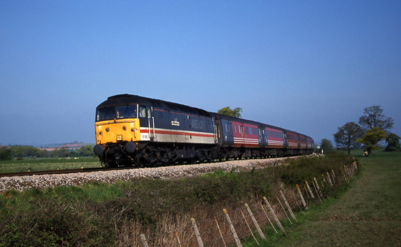 47810, 06.36 Wolverhampton-Plymouth, Powderham, near Exeter, 2-5-00.