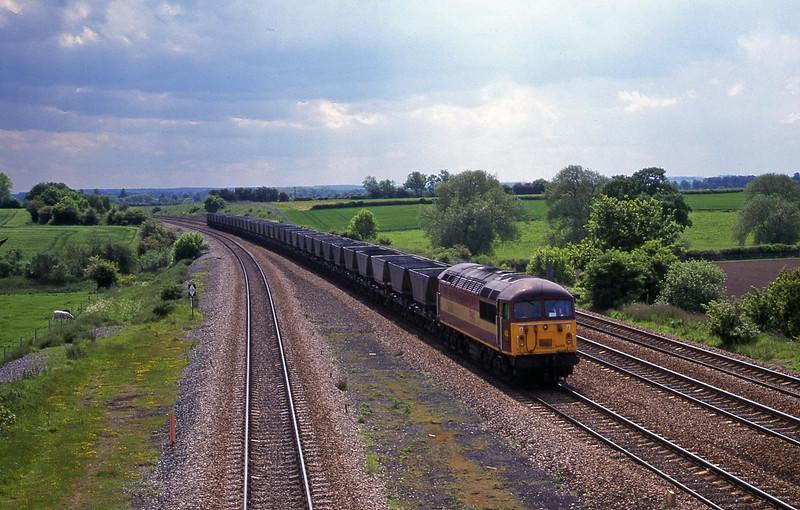 56018, down mgr empties, Bolton Percy, near York, 30-5-00.