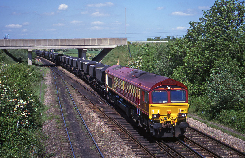 66202, Toton Yard-Didcot Power Station, Didcot North Junction, 16-5-00.
