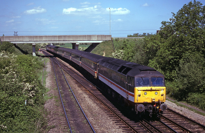 47847/47840, up, Didcot North Junction, 16-5-00.