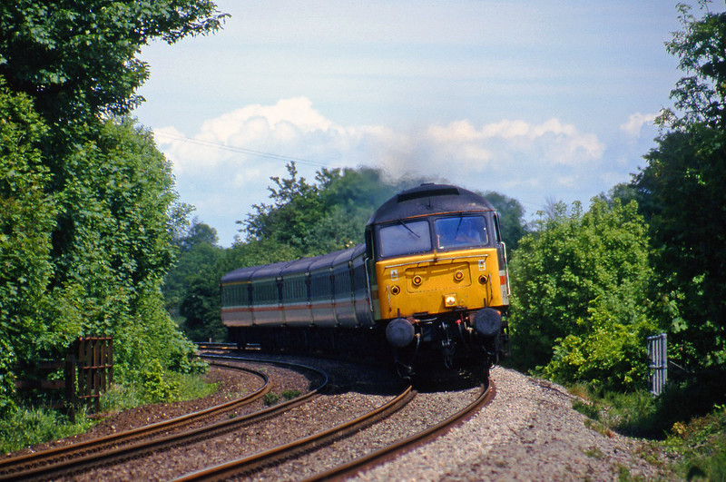 47828, 09.13 Liverpool Lime Street-Plymouth, Marlands, near Wellington, 29-5-00.