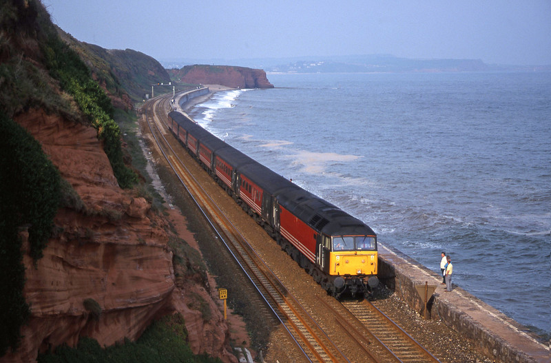 47829, 08.40 Glasgow-Penzance, Dawlish, 1-5-00.