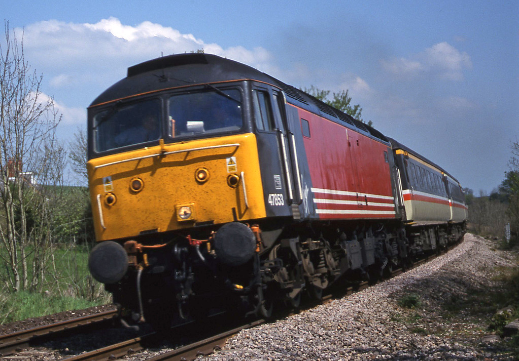 47853, 09.13 Liverpool Lime Street-Plymouth, Marlands, near Wellington, 1-5-00.