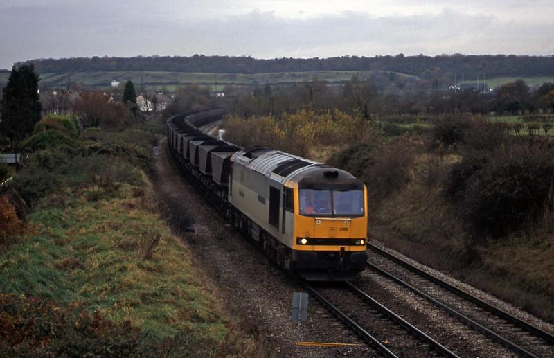 60088, Avonmouth Bulk Handling Terminal-Didcot Power Station, Brentry, Bristol, 21-11-00.