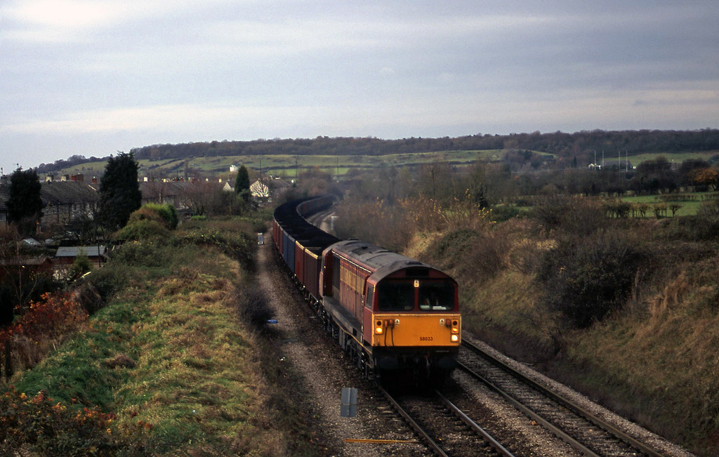 58033, up MEAs, Brentry, Bristol, 28-11-00.