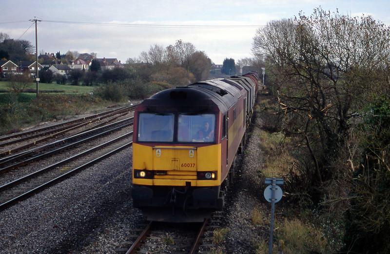 60037, 05.33 Wolverhampton-Margam, Magor, 14-11-00.