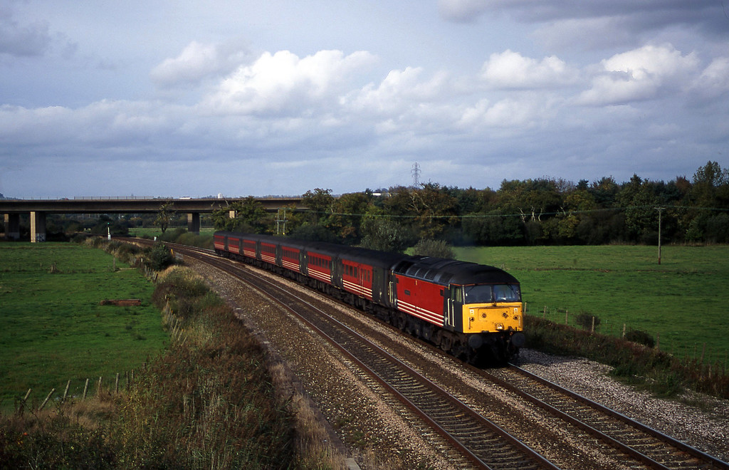 47822. 09.13 Liverpool Lime Street-Plymouth, Exminster, near Exeter, 17-10-00.