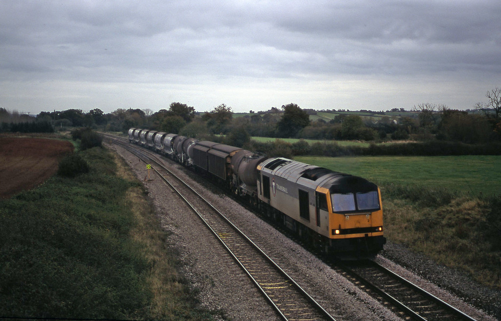 60082, 08.57 Cliffe Vale-St Blazey, Creech St Michael, near Taunton, 24-10-00.
