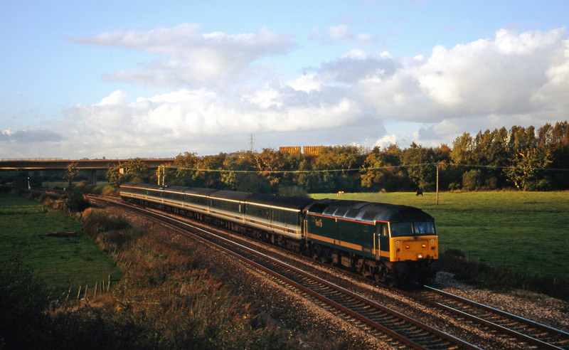47832, 14.33 London Paddington-Plymouth, Exminster, near Exeter, 16-10-00.