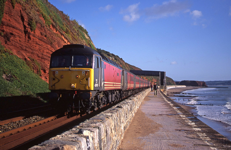 47747, 06.05 Derby-Plymouth, Dawlish, 10-10-00.