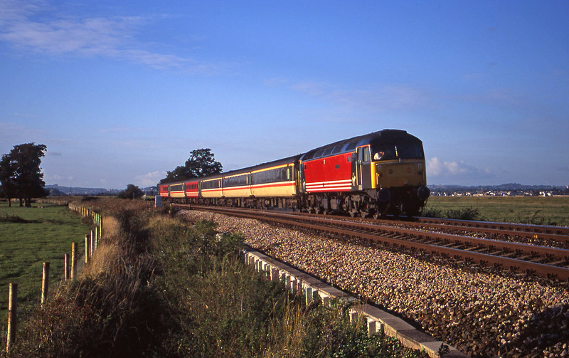 47843, 08.40 Glasgow-Penzance, Exminster, near Exeter, 13-10-00.