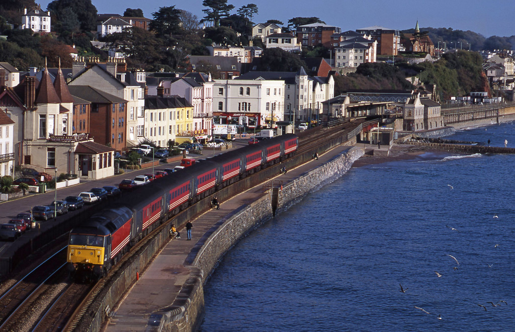 47851, 06.05 Derby-Plymouth, Dawlish, 17-10-00.