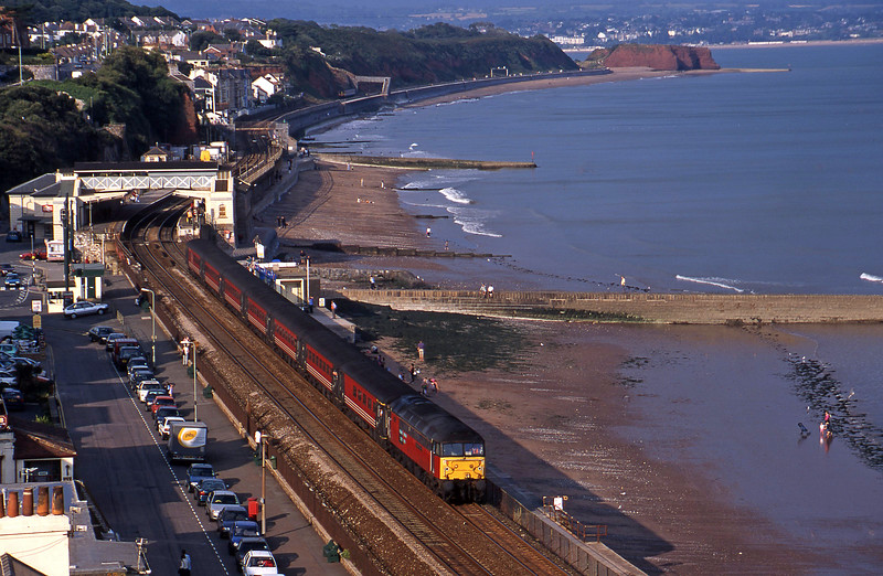 47749, 08.40 Glasgow-Penzance, Dawlish, 2-9-00.