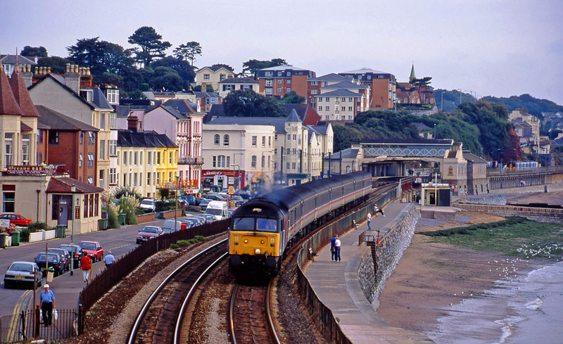 47844, 06.05 Derby-Plymouth, Dawlish, 13-9-00.