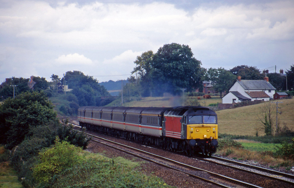 47844, 11.50 Plymouth-Liverpool Lime Street, Rewe, near Exeter, 13-9-00.