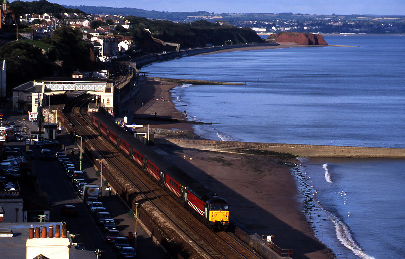 47750, 08.40 Glasgow-Penzance, Dawlish, 16-9-00.