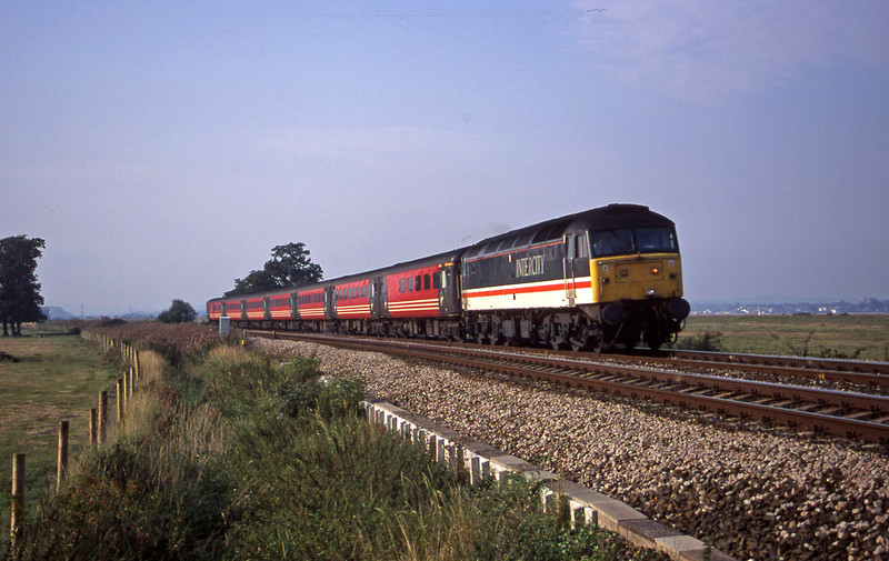 47826, 08.40 Glasgow-Penzance, Powderham, near Exeter, 11-9-00.