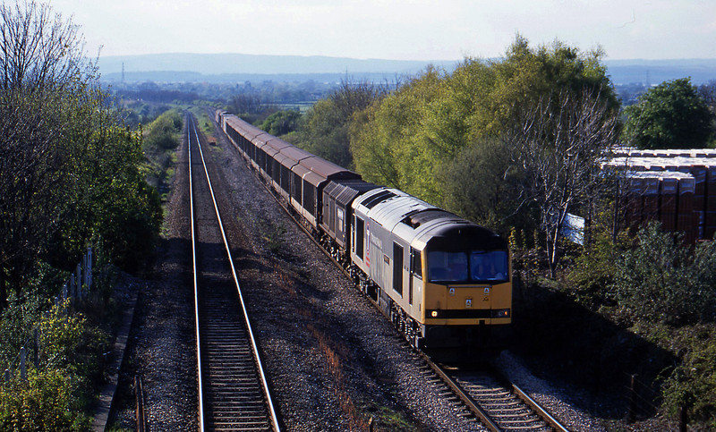 60063, 16.46 Newport Alexandra Dock Junction-Wembley, Cattybrook, Bristol, 30-4-01.