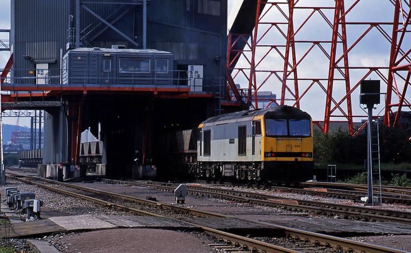 60028, loading mgr, Avonmouth Bulk Handling Terminal, 25-4-01.