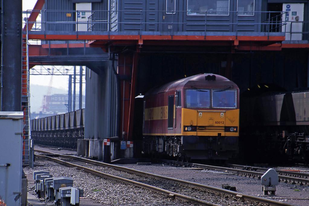60012, loading mgr, Avonmouth Bulk Handling Terminal, 27-4-01.