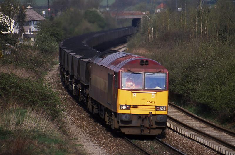 60023, up mgr, Brentry, Bristol, 17-4-01.