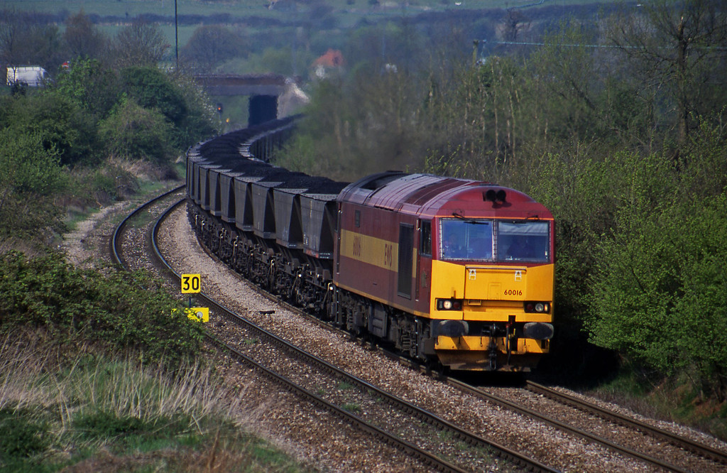60016, up mgr, Brentry, Bristol, 27-4-01.