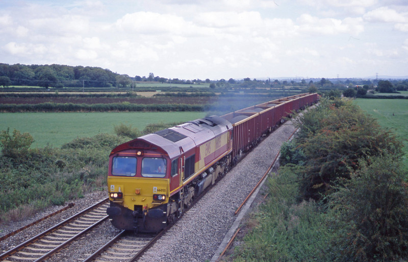 66055, down stone, Berkley Marsh, near Frome, 21-8-01.
