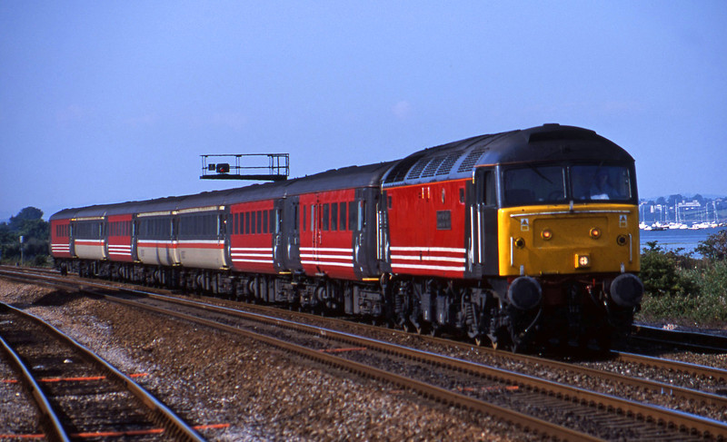 47828, 08.40 Glasgow-Penzance, Dawlish Warren, 1-8-01.