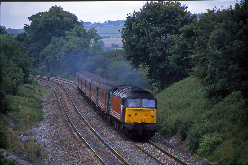 47839, Penzance-Manchester, Whiteball, 7-8-01.