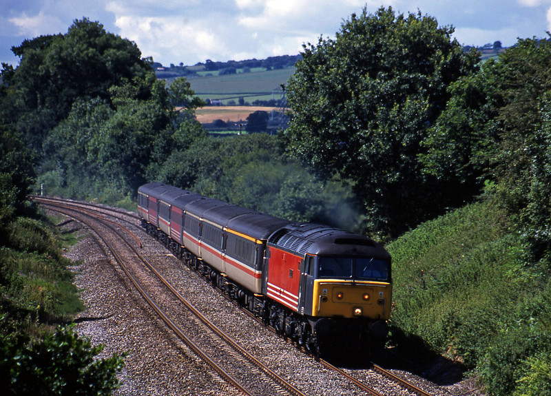 47818, 11.50 Plymouth-Liverpool, Whiteball, 8-8-01.