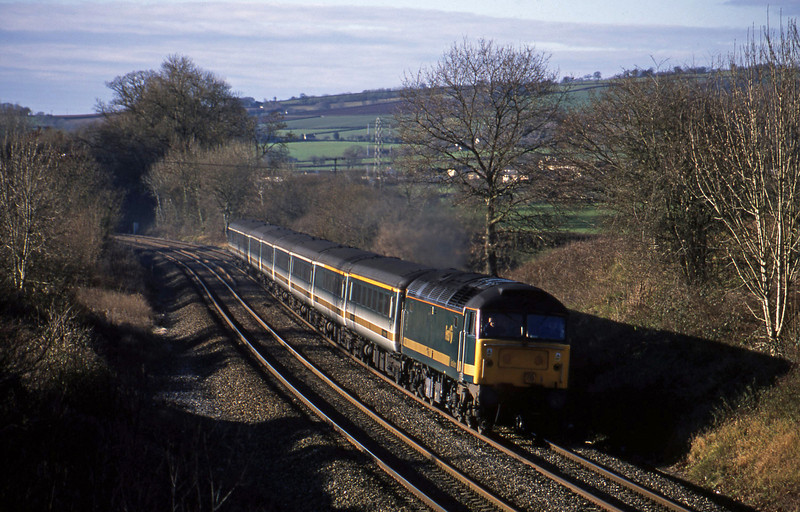 47830, 08.20 Penzance-London Paddington, Whiteball, 22-12-01.