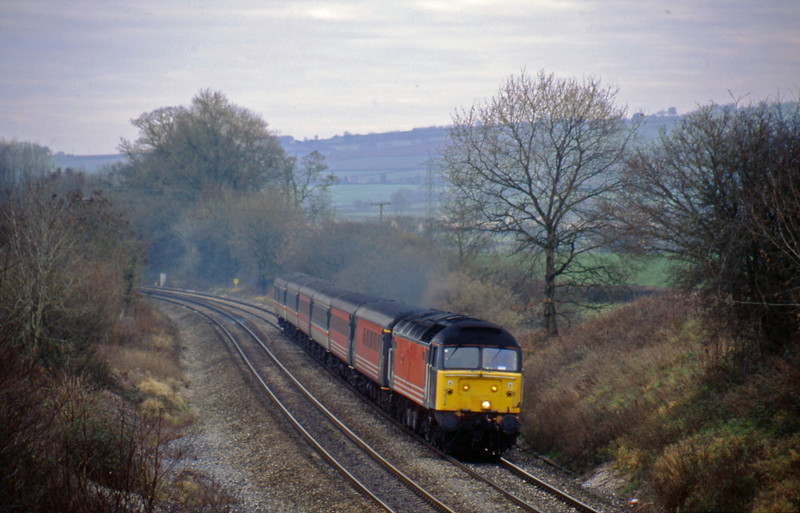 47814, 11.50 Plymouth-Liverpool Lime Street, Whiteball, 18-12-01.