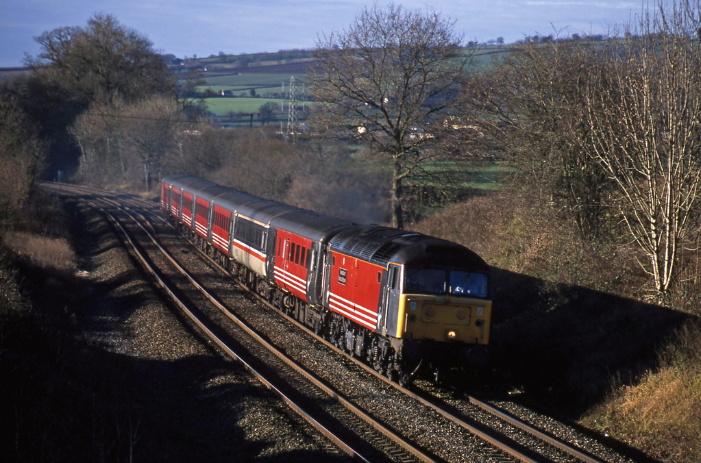 47817, 08.42 Penzance-Manchester Piccadilly, Whiteball, 22-12-01.