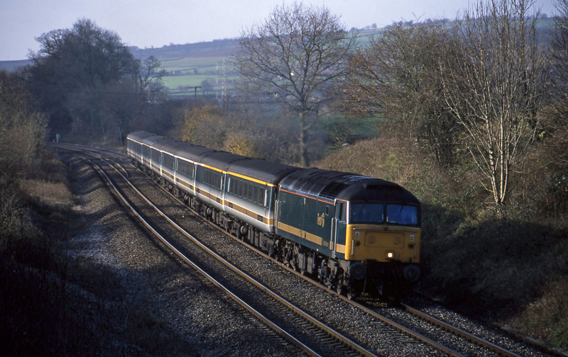 47830, 08.20 Penzance-London Paddington, Whiteball, 5-12-01.