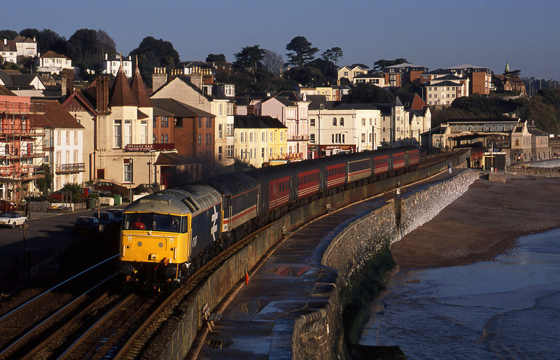 47847/47826, 06.05 Derby-Plymouth, Dawlish, 11-12-01.