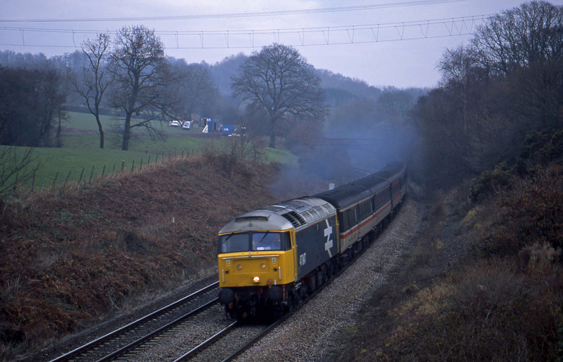 47847, 09.13 Liverpool Lime Street-Plymouth, Whiteball, 19-12-01.