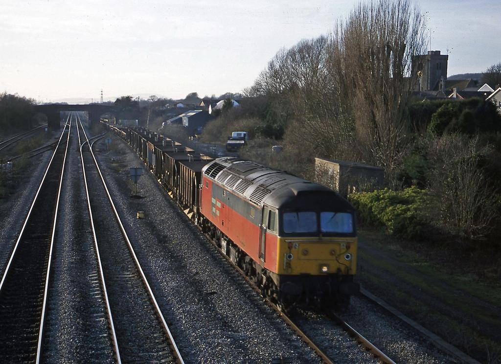 47761, 14.59 Newport Alexandra Dock Junction-Westbury, Magor, 13-2-01.