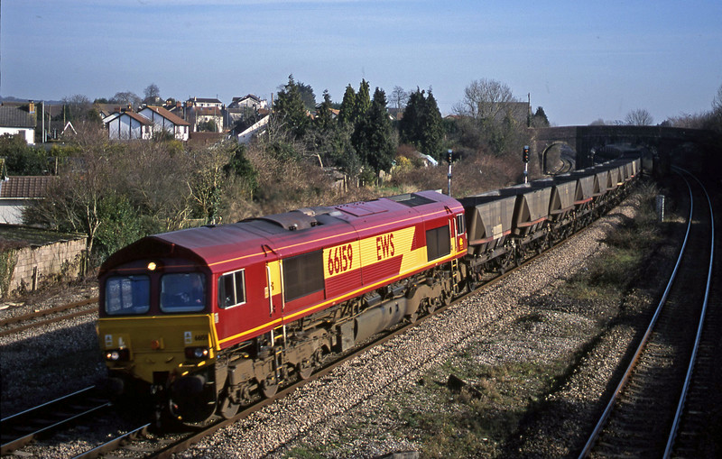66159, down mgr empties, Magor, 13-2-01.