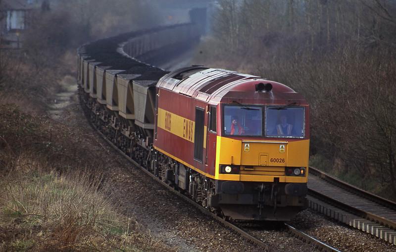 60003, Avonmouth Bulk Handling Terminal-Didcot Power Station, Brentry, Bristol, 20-2-01.