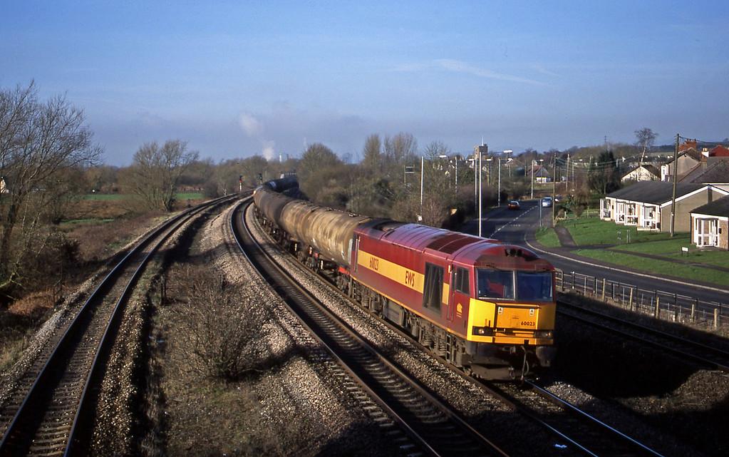60023, 05.36 Robeston-Westerleigh, Magor, 13-2-01.