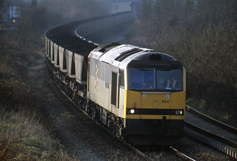 60054, Avonmouth Bulk Handling Terminal-Didcot Power Station, Brentry, Bristol, 20-2-01.