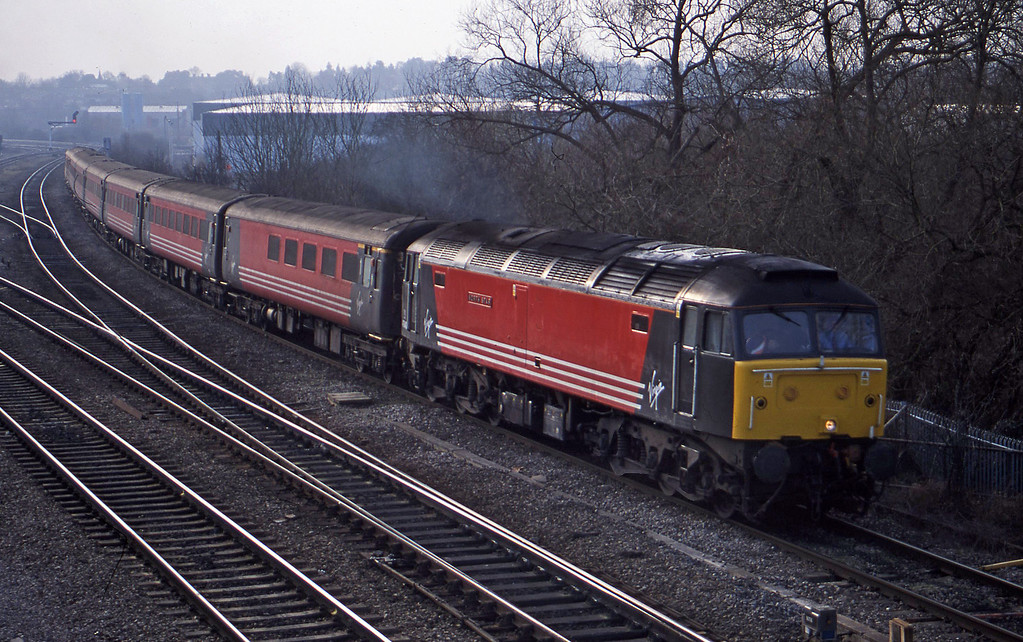 47840, down, Didcot North Junction, 16-1-01.