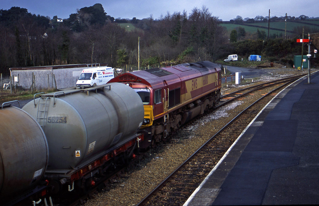 66180, 04.14 Plymouth Tavistock Junction Yard-Penzance, Par, 30-1--01.