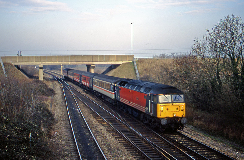 47814, up, Didcot North Junction, 16-1-01.